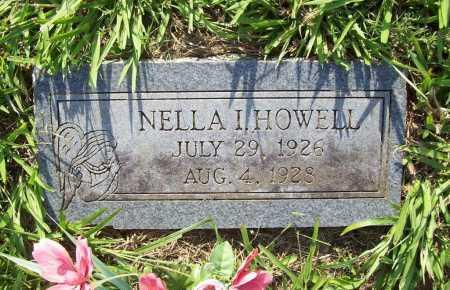HOWELL, NELLA I. - Madison County, Arkansas | NELLA I. HOWELL - Arkansas Gravestone Photos