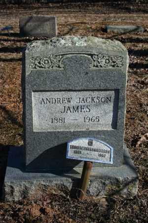 JAMES, ANDREW JACKSON JR. - Madison County, Arkansas | ANDREW JACKSON JR. JAMES - Arkansas Gravestone Photos
