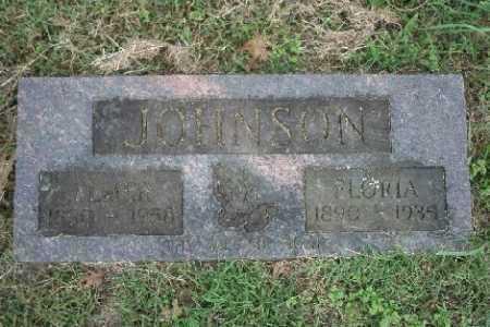 JOHNSON, FLORIA - Madison County, Arkansas   FLORIA JOHNSON - Arkansas Gravestone Photos