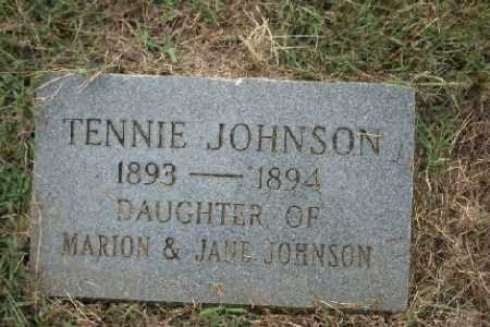 JOHNSON, TENNIE - Madison County, Arkansas | TENNIE JOHNSON - Arkansas Gravestone Photos
