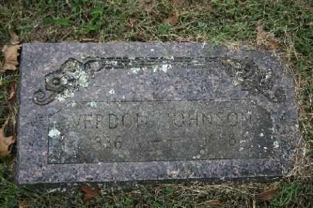 JOHNSON, VERDON - Madison County, Arkansas   VERDON JOHNSON - Arkansas Gravestone Photos