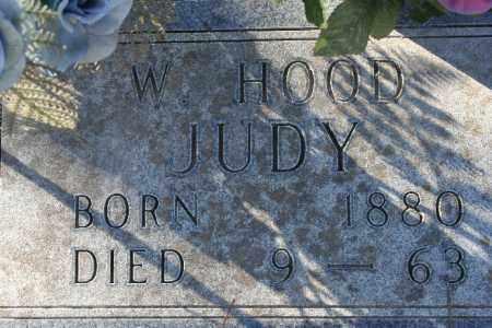 JUDY, W. HOOD - Madison County, Arkansas | W. HOOD JUDY - Arkansas Gravestone Photos