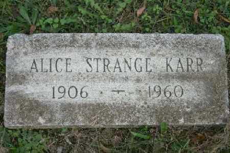 KARR, ALICE - Madison County, Arkansas | ALICE KARR - Arkansas Gravestone Photos