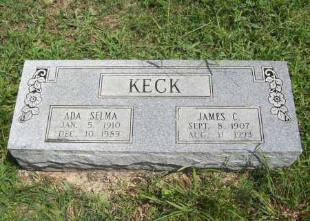 KECK, JAMES C. - Madison County, Arkansas | JAMES C. KECK - Arkansas Gravestone Photos