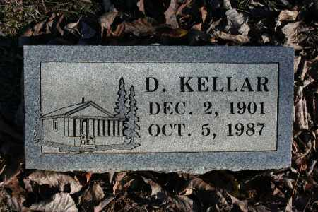 KELLAR, D. - Madison County, Arkansas | D. KELLAR - Arkansas Gravestone Photos