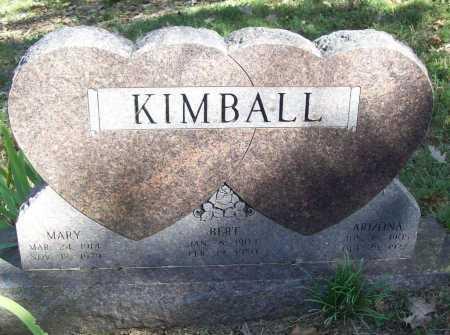 KIMBALL, MARY ELIABETH - Madison County, Arkansas | MARY ELIABETH KIMBALL - Arkansas Gravestone Photos