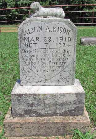 KISOR, ALVIN A. - Madison County, Arkansas | ALVIN A. KISOR - Arkansas Gravestone Photos