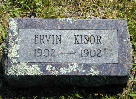 KISOR, ERVIN - Madison County, Arkansas | ERVIN KISOR - Arkansas Gravestone Photos