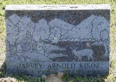 KISOR, HARVEY ARNOLD - Madison County, Arkansas | HARVEY ARNOLD KISOR - Arkansas Gravestone Photos
