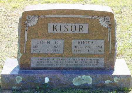 KISOR, JOHN C. - Madison County, Arkansas | JOHN C. KISOR - Arkansas Gravestone Photos