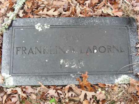 LABORNE, FRANKLIN W. - Madison County, Arkansas | FRANKLIN W. LABORNE - Arkansas Gravestone Photos