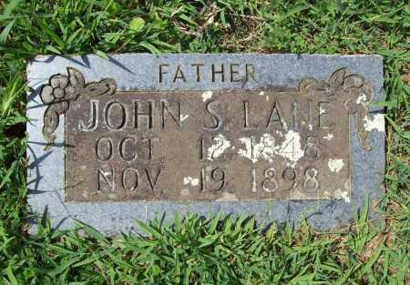 LANE, JOHN S. - Madison County, Arkansas | JOHN S. LANE - Arkansas Gravestone Photos