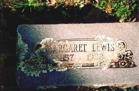 LEWIS, MARGARET - Madison County, Arkansas   MARGARET LEWIS - Arkansas Gravestone Photos