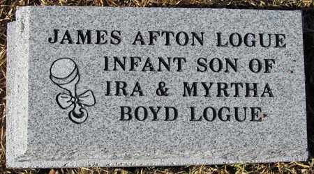 LOGUE, JAMES ALTON - Madison County, Arkansas | JAMES ALTON LOGUE - Arkansas Gravestone Photos