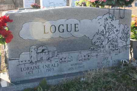 LOGUE, JAY E. - Madison County, Arkansas   JAY E. LOGUE - Arkansas Gravestone Photos