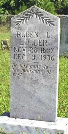 LOLLER, RUBEN L. - Madison County, Arkansas | RUBEN L. LOLLER - Arkansas Gravestone Photos