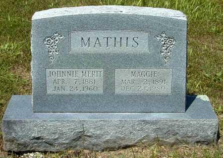 MATHIS, MAGGIE - Madison County, Arkansas | MAGGIE MATHIS - Arkansas Gravestone Photos
