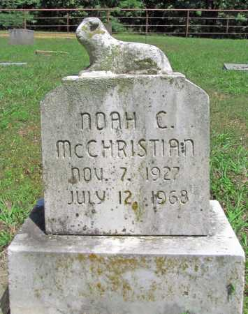 MCCHRISTIAN, NOAH C. - Madison County, Arkansas | NOAH C. MCCHRISTIAN - Arkansas Gravestone Photos