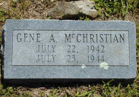 MCCHRISTIAN, GENE A. - Madison County, Arkansas   GENE A. MCCHRISTIAN - Arkansas Gravestone Photos