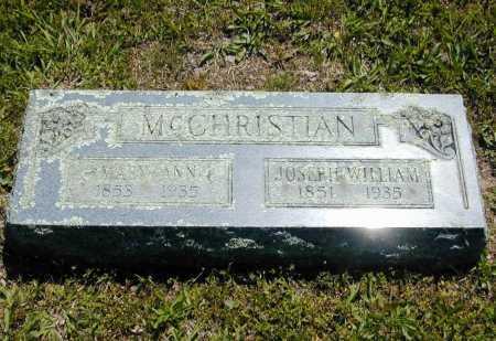 MCCHRISTIAN, MARY ANN - Madison County, Arkansas | MARY ANN MCCHRISTIAN - Arkansas Gravestone Photos
