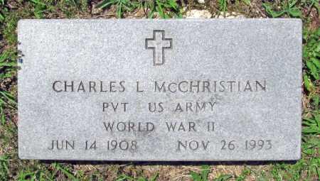 MCCHRISTIAN (VETERAN WWII), CHARLES L. - Madison County, Arkansas   CHARLES L. MCCHRISTIAN (VETERAN WWII) - Arkansas Gravestone Photos