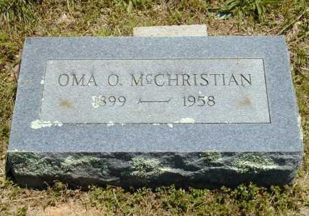 MCCHRISTIAN, OMA O. - Madison County, Arkansas | OMA O. MCCHRISTIAN - Arkansas Gravestone Photos