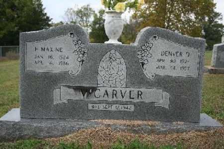 MCCARVER, DENVER - Madison County, Arkansas | DENVER MCCARVER - Arkansas Gravestone Photos