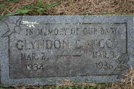 MCCOY, GLYNDON E. - Madison County, Arkansas   GLYNDON E. MCCOY - Arkansas Gravestone Photos