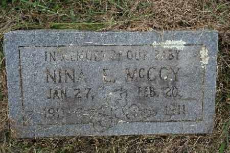 MCCOY, NINA E. - Madison County, Arkansas | NINA E. MCCOY - Arkansas Gravestone Photos