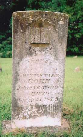 MCCUISTIAN, THOMAS - Madison County, Arkansas   THOMAS MCCUISTIAN - Arkansas Gravestone Photos