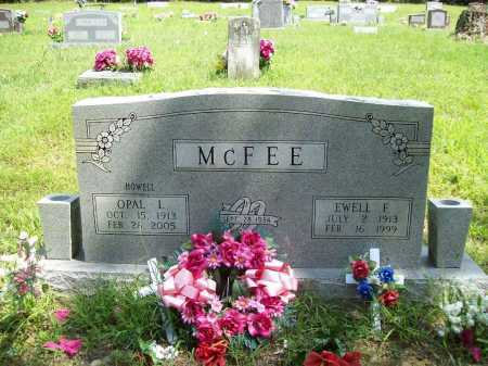 HOWELL MCFEE, OPAL LINNIE - Madison County, Arkansas | OPAL LINNIE HOWELL MCFEE - Arkansas Gravestone Photos