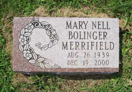 MERRIFIELD, MARY NELL - Madison County, Arkansas | MARY NELL MERRIFIELD - Arkansas Gravestone Photos