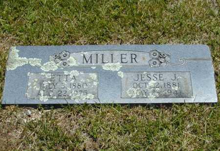 EUBANKS MILLER, ETTA (2) - Madison County, Arkansas | ETTA (2) EUBANKS MILLER - Arkansas Gravestone Photos