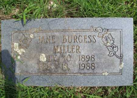 MILLER, JANE - Madison County, Arkansas | JANE MILLER - Arkansas Gravestone Photos