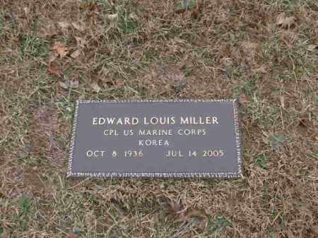 MILLER (VETERAN KOR), EDWARD LOUIS - Madison County, Arkansas | EDWARD LOUIS MILLER (VETERAN KOR) - Arkansas Gravestone Photos