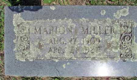 MILLER, MARION - Madison County, Arkansas   MARION MILLER - Arkansas Gravestone Photos