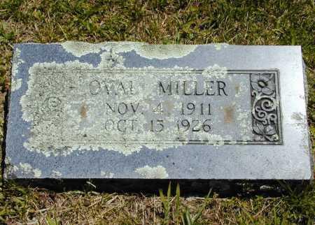 MILLER, OVAL - Madison County, Arkansas | OVAL MILLER - Arkansas Gravestone Photos
