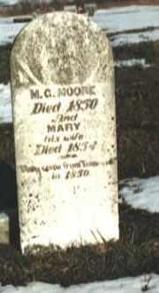 MOORE, MARY - Madison County, Arkansas | MARY MOORE - Arkansas Gravestone Photos