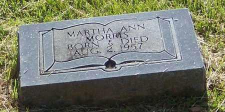 MORRIS, MARTHA ANN - Madison County, Arkansas | MARTHA ANN MORRIS - Arkansas Gravestone Photos