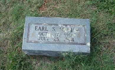 NAPIER, EARL S - Madison County, Arkansas | EARL S NAPIER - Arkansas Gravestone Photos