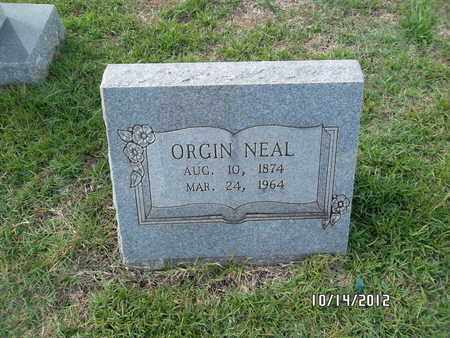 LEWIS NEAL, ORGIN - Madison County, Arkansas | ORGIN LEWIS NEAL - Arkansas Gravestone Photos