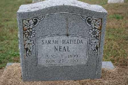 NEAL, SARAH MATILDA - Madison County, Arkansas | SARAH MATILDA NEAL - Arkansas Gravestone Photos