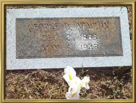 NEWLON, GEORGE D. {DAVID} - Madison County, Arkansas   GEORGE D. {DAVID} NEWLON - Arkansas Gravestone Photos