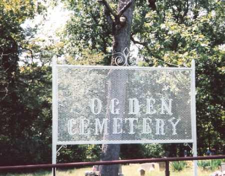 *OGDEN CEMETERY SIGN,  - Madison County, Arkansas |  *OGDEN CEMETERY SIGN - Arkansas Gravestone Photos