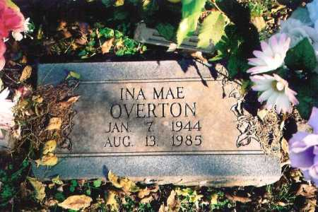 OVERTON, INA MAE - Madison County, Arkansas | INA MAE OVERTON - Arkansas Gravestone Photos