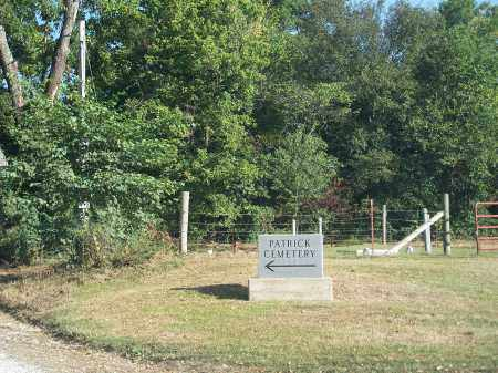 *PATRICK CEMETERY ENTRANCE,  - Madison County, Arkansas |  *PATRICK CEMETERY ENTRANCE - Arkansas Gravestone Photos