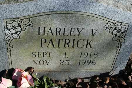 PATRICK, HARLEY V. - Madison County, Arkansas | HARLEY V. PATRICK - Arkansas Gravestone Photos