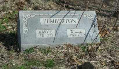 PEMBERTON, WILLIAM 'WILLIE' - Madison County, Arkansas   WILLIAM 'WILLIE' PEMBERTON - Arkansas Gravestone Photos