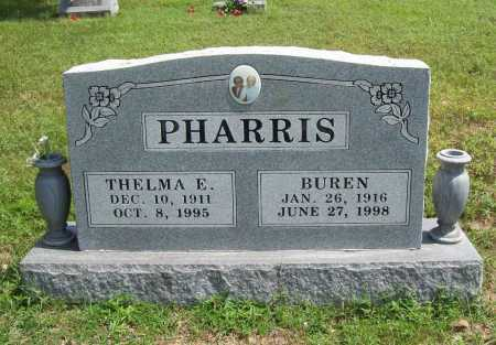 EVANS PHARRIS, THELMA ETHYLEEN - Madison County, Arkansas | THELMA ETHYLEEN EVANS PHARRIS - Arkansas Gravestone Photos