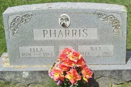 "PHARRIS, DOCK ""WAX - Madison County, Arkansas | DOCK ""WAX PHARRIS - Arkansas Gravestone Photos"